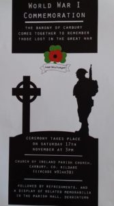 WWI Memorial Servic