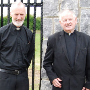 Fr.-John-Fitzpatrick-P.P.-(left)-and-Fr.-Alphonsus-Murphy-P.E.