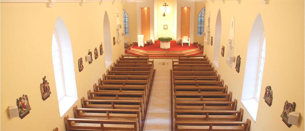Carbury Parish : A Long History of Worship