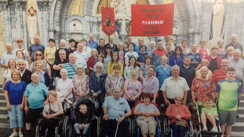 Carbury, Edenderry & Rhode Parish Pilgrimage to Lourdes 2018