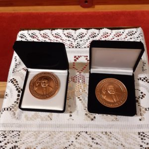 The pope john paul the second medals